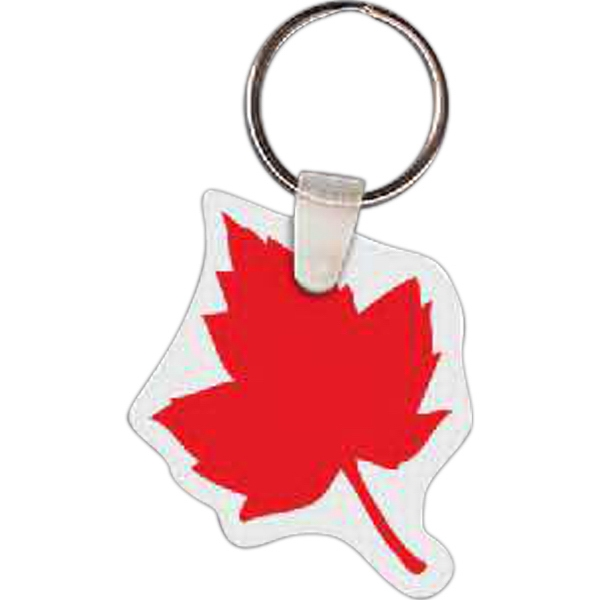 Personalized Maple Leaf Key tag