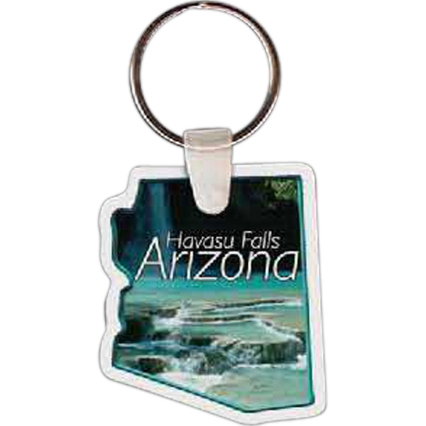 Imprinted Arizona Key tag