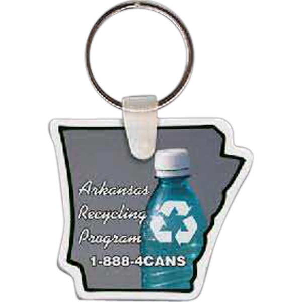Printed Arkansas Key tag