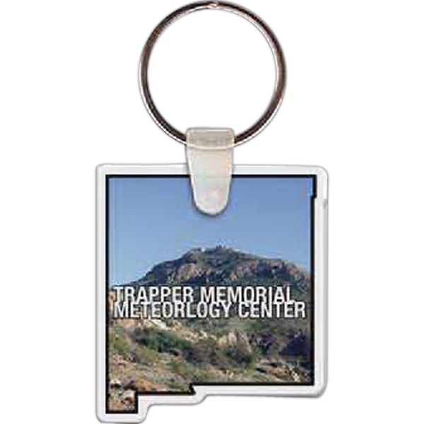 Printed New Mexico Key tag