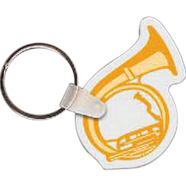 Imprinted Tuba Key Tag