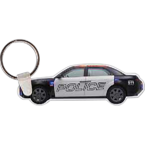 Promotional Police Car Key Tag