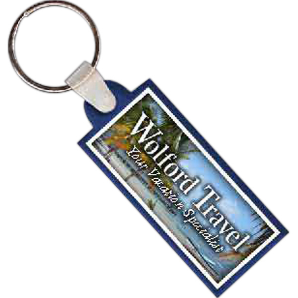 Promotional Rectangle 1 Key Tag