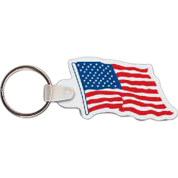 Personalized Flag Key Tag