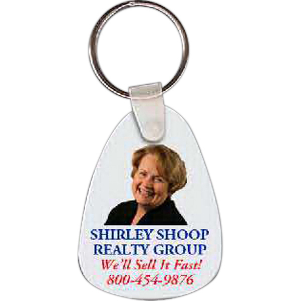 Custom Tear Drop Key Tag