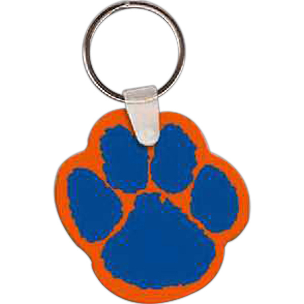 Custom Paw Key Tag