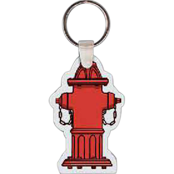 Customized Fire Hydrant Key Tag