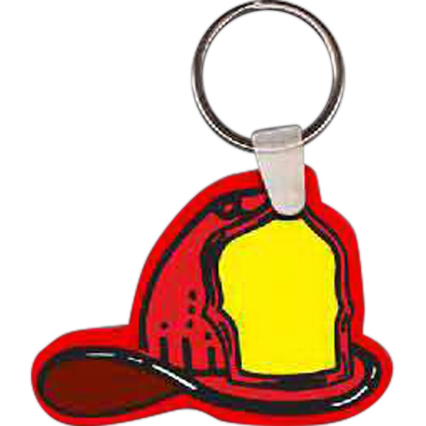 Customized Fire Helmet Key Tag