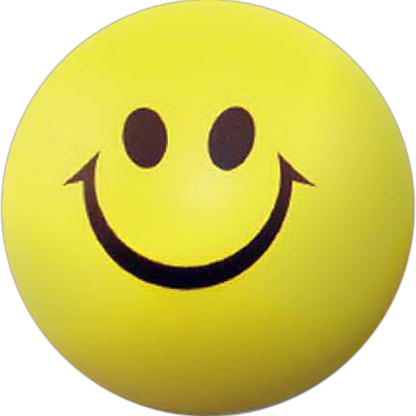 Personalized Smiley Face Stress Ball