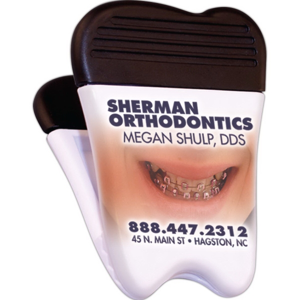Imprinted Tooth Magnetic Clip