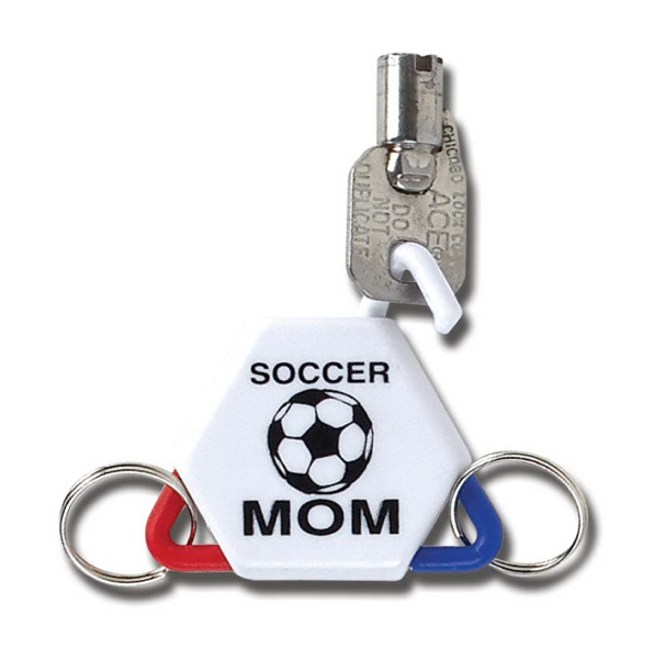 Promotional Three-Way Key Tag