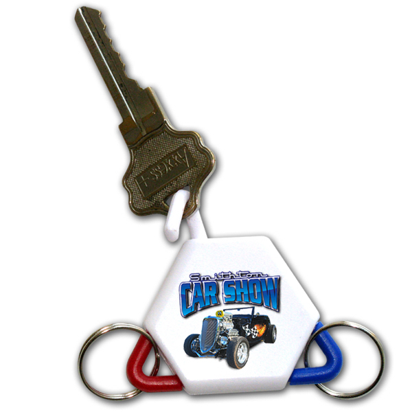 Custom Three-Way Key Tag