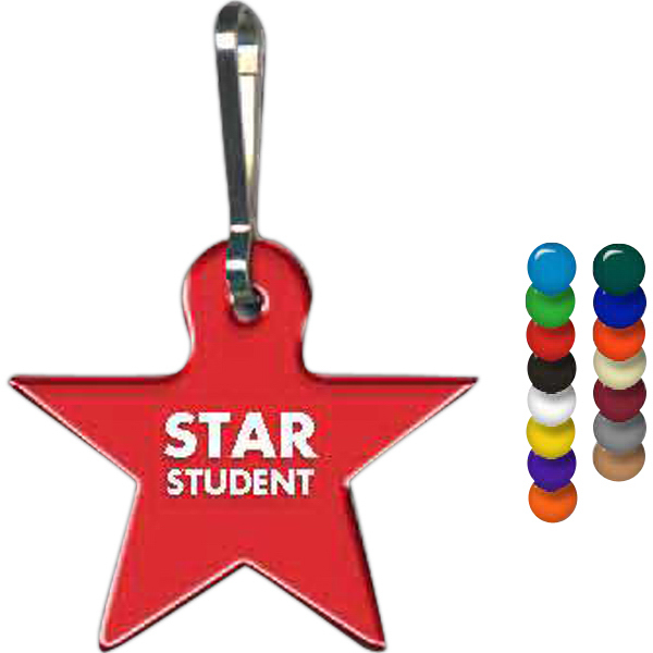 Customized Star Zippy Clip