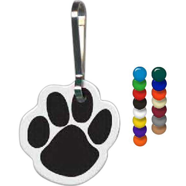 Printed Paw Zippy Clip