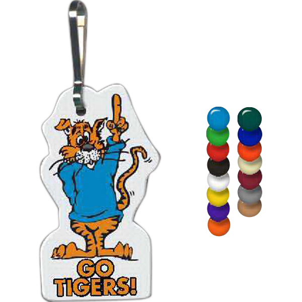 Promotional Tiger Zippy Clip