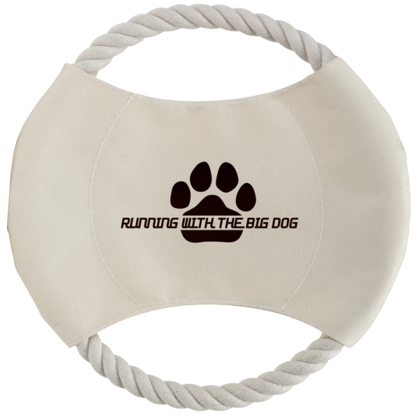 Custom Toss N Chew Dog Disc