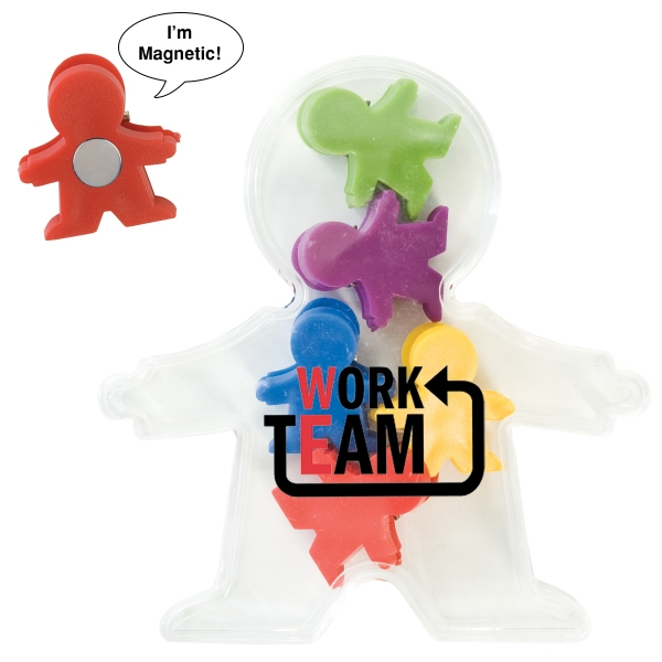 Customized Magnetic People Clip