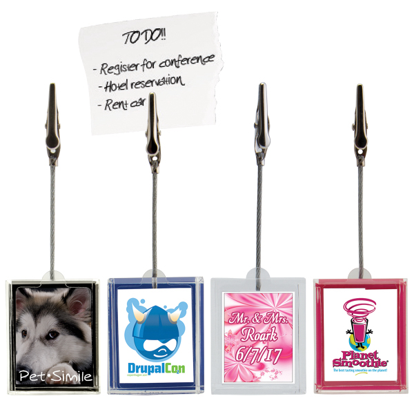 Promotional Insert Note Holder