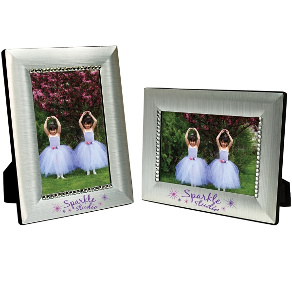 Personalized 4 x 6 Jeweled Frame