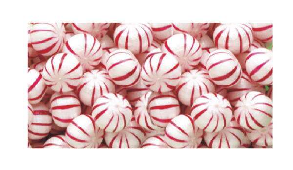 Personalized Hard Peppermint Balls Hard Candy
