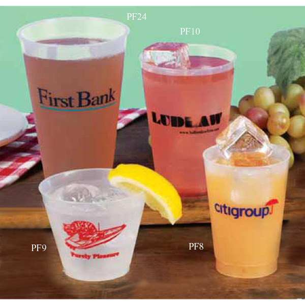 Imprinted Frost Flex Cup
