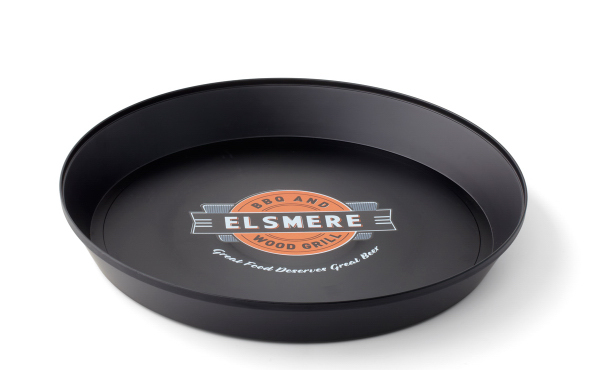 "Personalized Serving Tray- 13"" Round"
