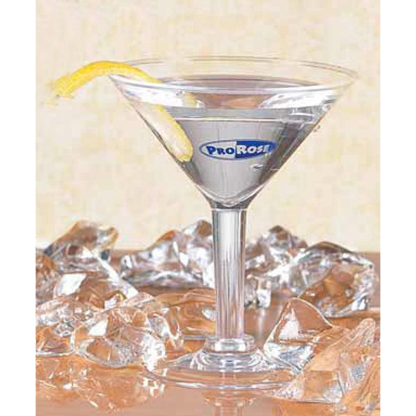 Printed Mini Martinit Glass -2 oz