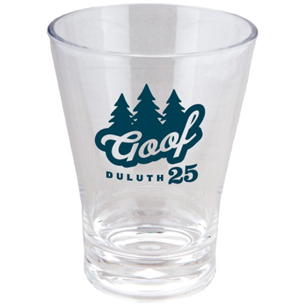 Printed Acrylic Tumbler- Short 12 oz Fluted