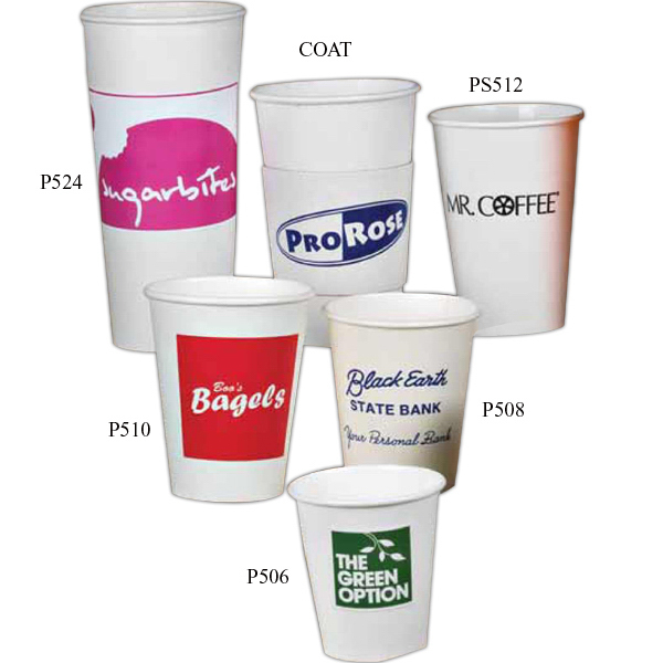 Imprinted Sleeve (Coat) for Cup