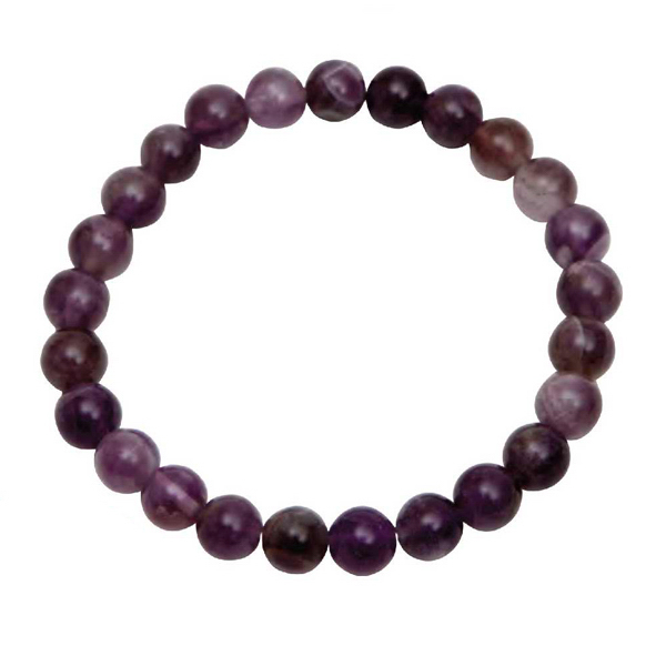Custom Purple Amethyst Bracelet