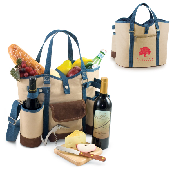 Customized Wine Country Tote