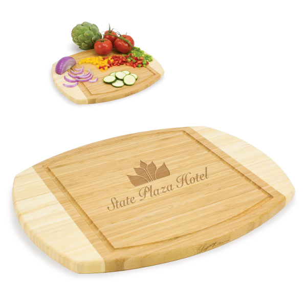 Custom Ovale Cutting Board