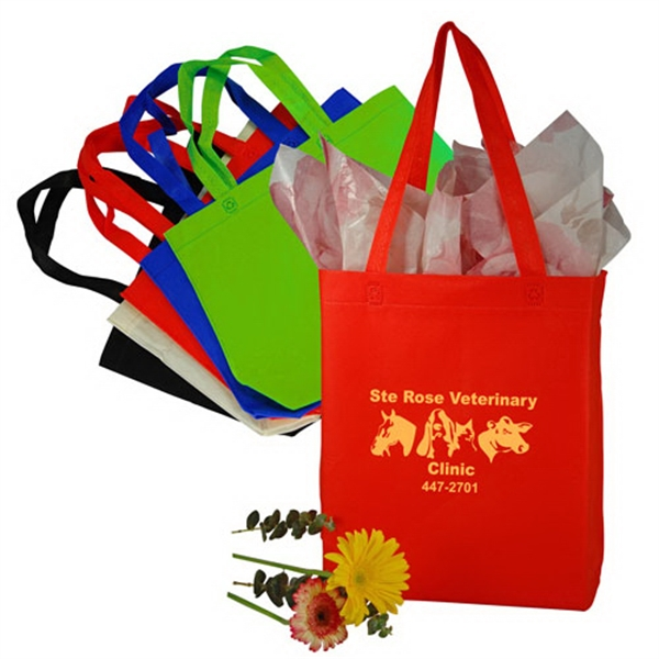 Custom Stitchless Nonwoven Shopping Tote