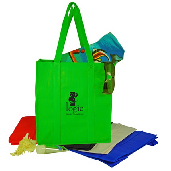 Imprinted Nonwoven Shopping Tote