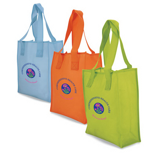 Personalized Vertical Translucent tote bag