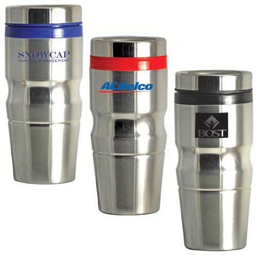 Imprinted Highlight Stainless Steel Tumbler