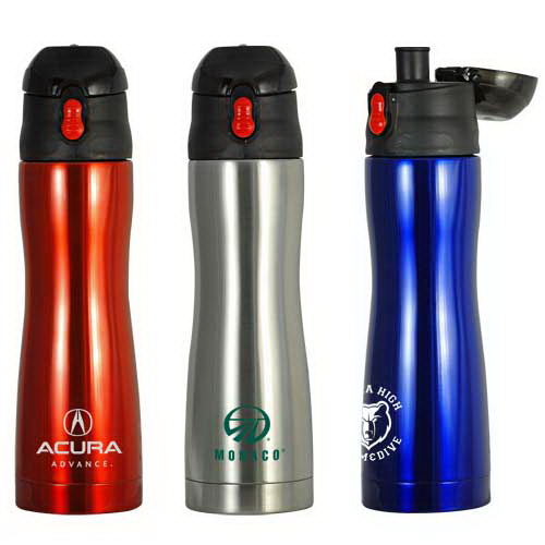 Promotional 16 oz Double-Wall Deluxe Sports Bottle