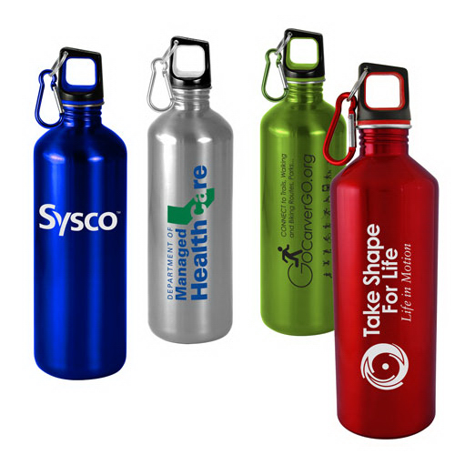 Custom 25 oz Classic Stainless Steel Sports Bottle