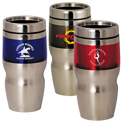Custom 16 oz. Stainless Steel Double Wall Tumbler