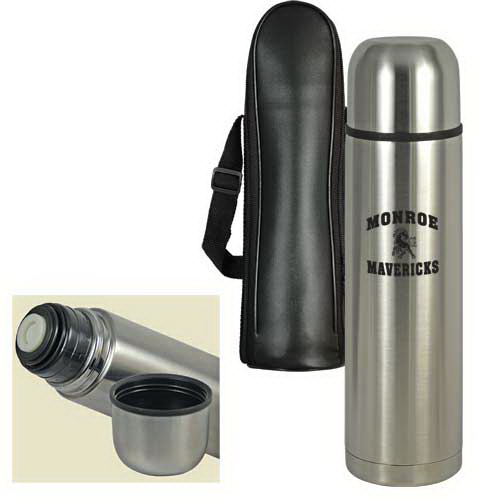 Imprinted Stainless Steel Thermal Bottle