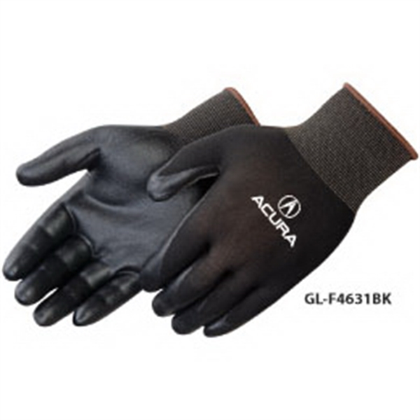 Personalized Ultra-thin nitrile foam palm coated knit gloves