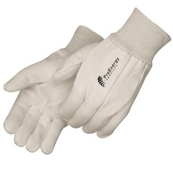 Custom 10 oz. canvas work gloves