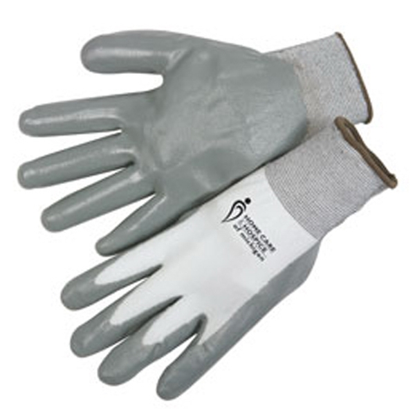 Printed Ultra thin nitrile palm coated knit gloves
