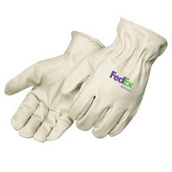 Imprinted Premium Grain Pigskin Driver Gloves