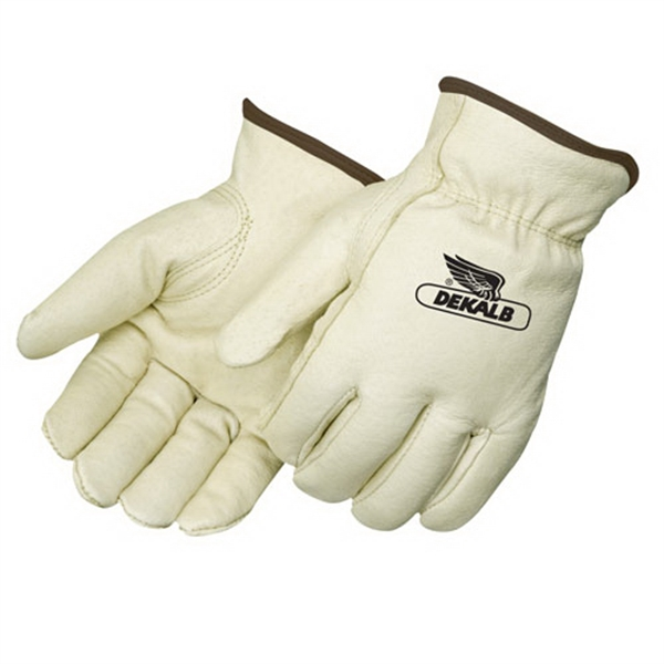 Personalized Insulated Standard Grain Pigskin Driver Gloves