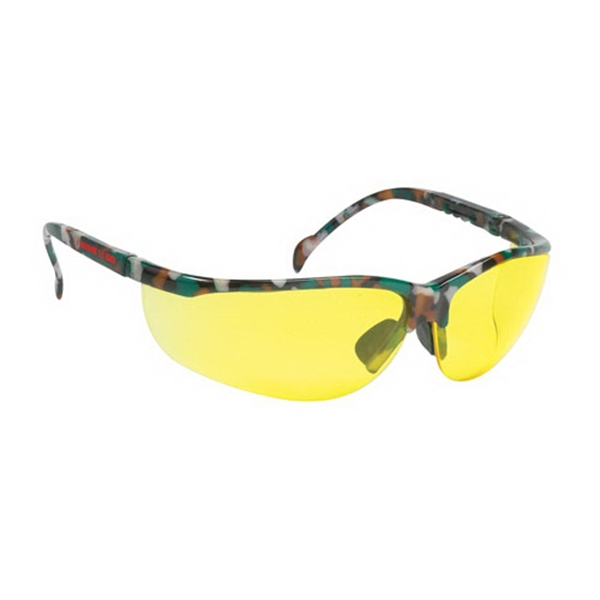 Personalized Wrap-around safety glasses
