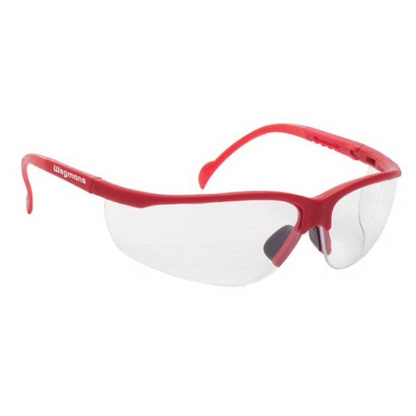 Custom Wrap-Around Safety Glasses