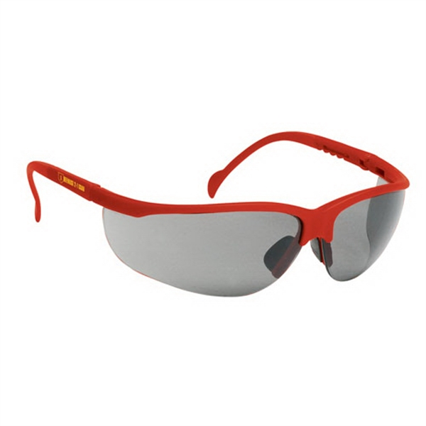 Imprinted Wrap-Around Safety Glasses