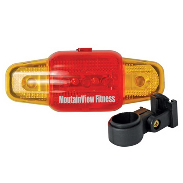 Printed 7 Function Red-Yellow Dual-Color Safety Flasher