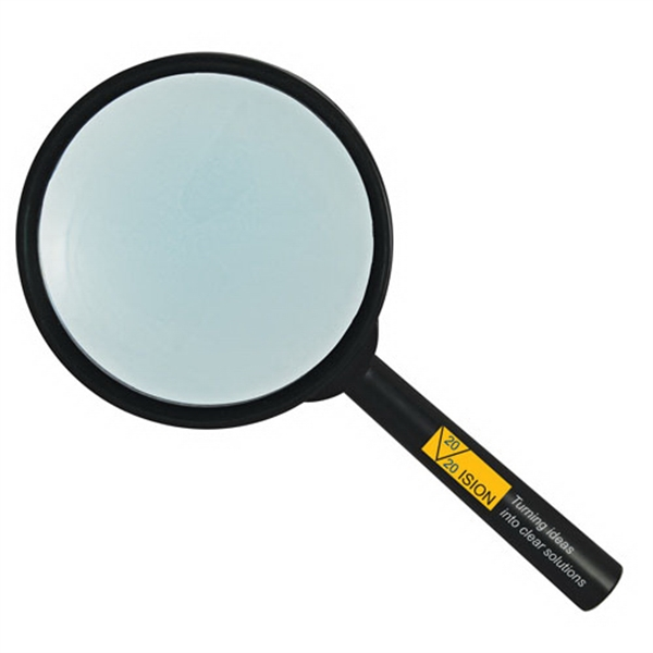 Customized 3x Hand Held Magnifier
